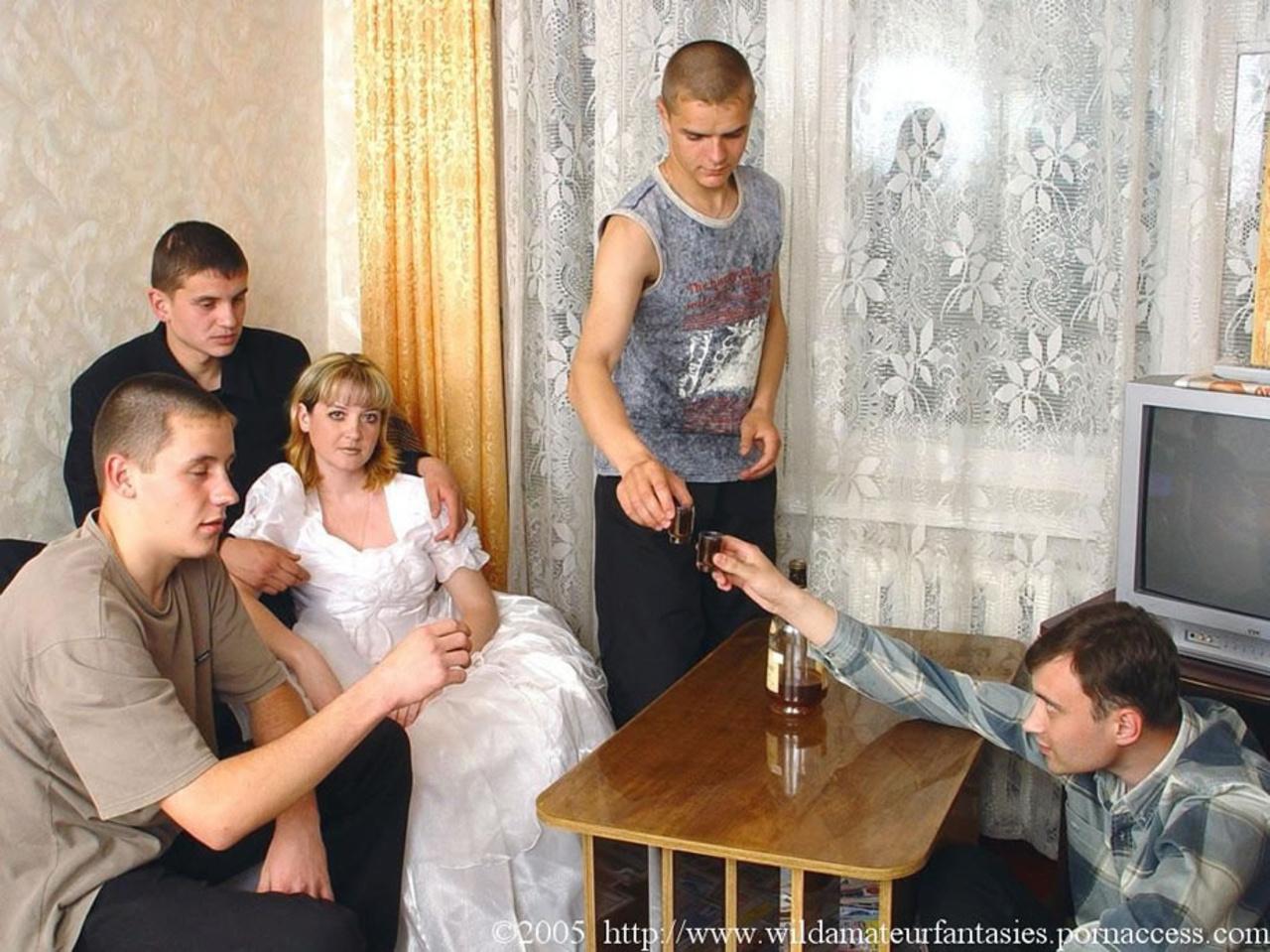 Разврат На Свадьбе